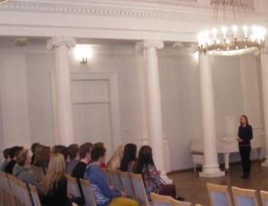 Tartu Ülikooliga tutvumas