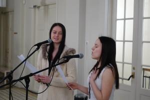 Sandra Saarniit ja Caryna Bogdanov