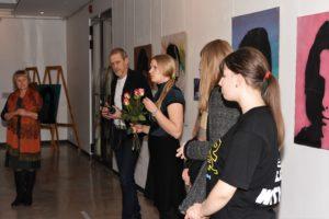Õpilaste kunstinäituse avamine linnagaleriis