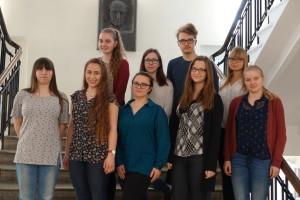 Noored Euroopa metsades osalejad