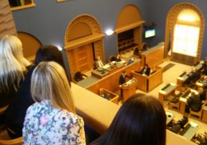 Sotsiaalsuund Riigikogus