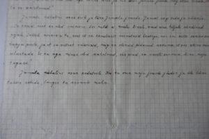 Tammsaare vahetult enne surma kirjutatud read